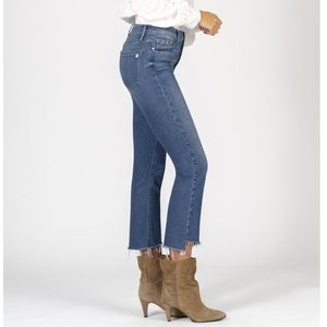 BLACK ORCHID Cindy Slant Fray High Rise Jeans 29